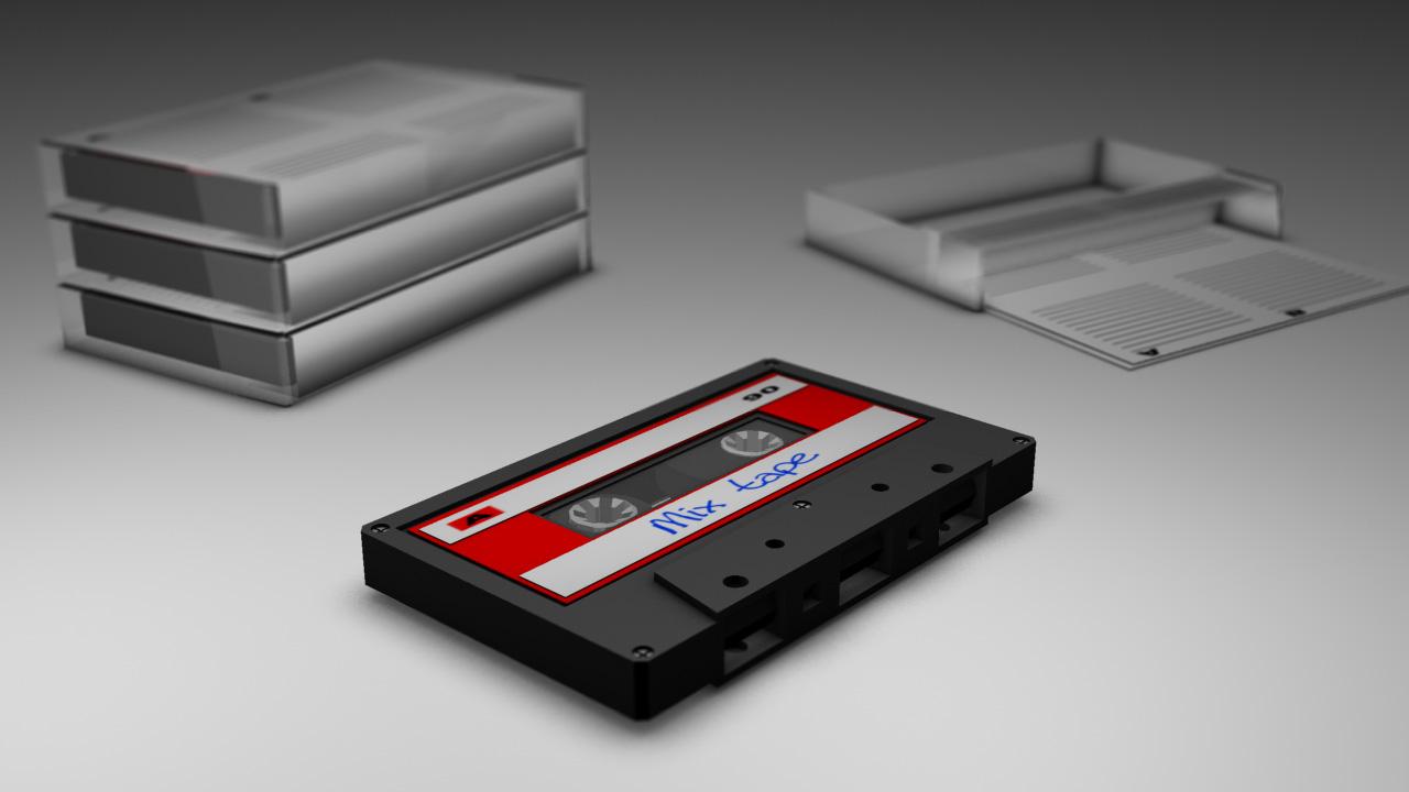 Audio cassette tape 001