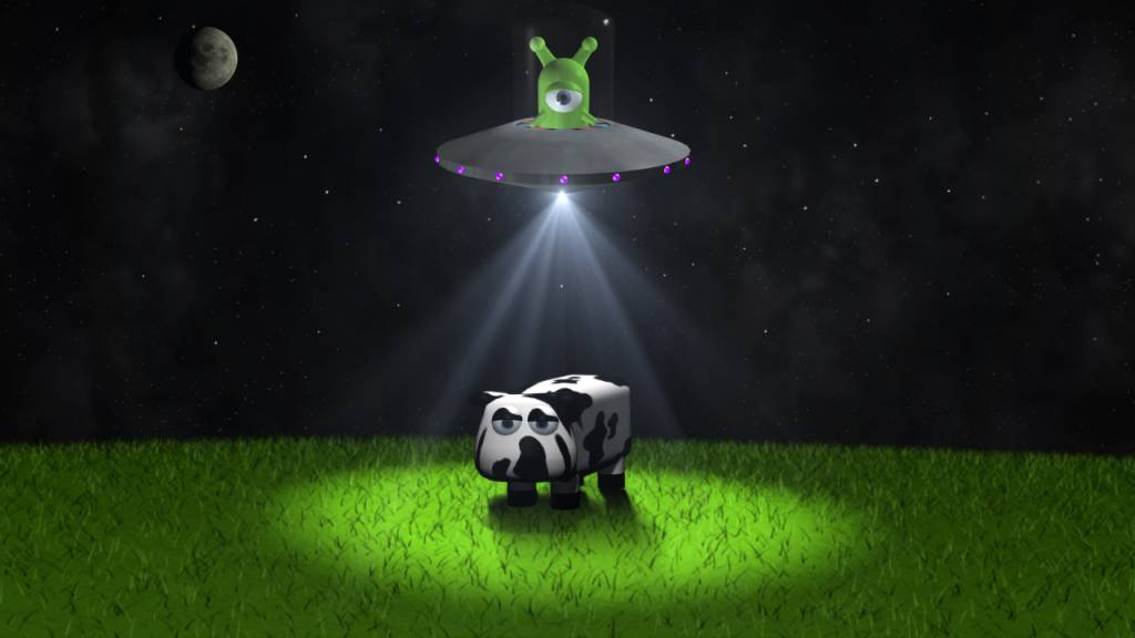 Cows and Aliens