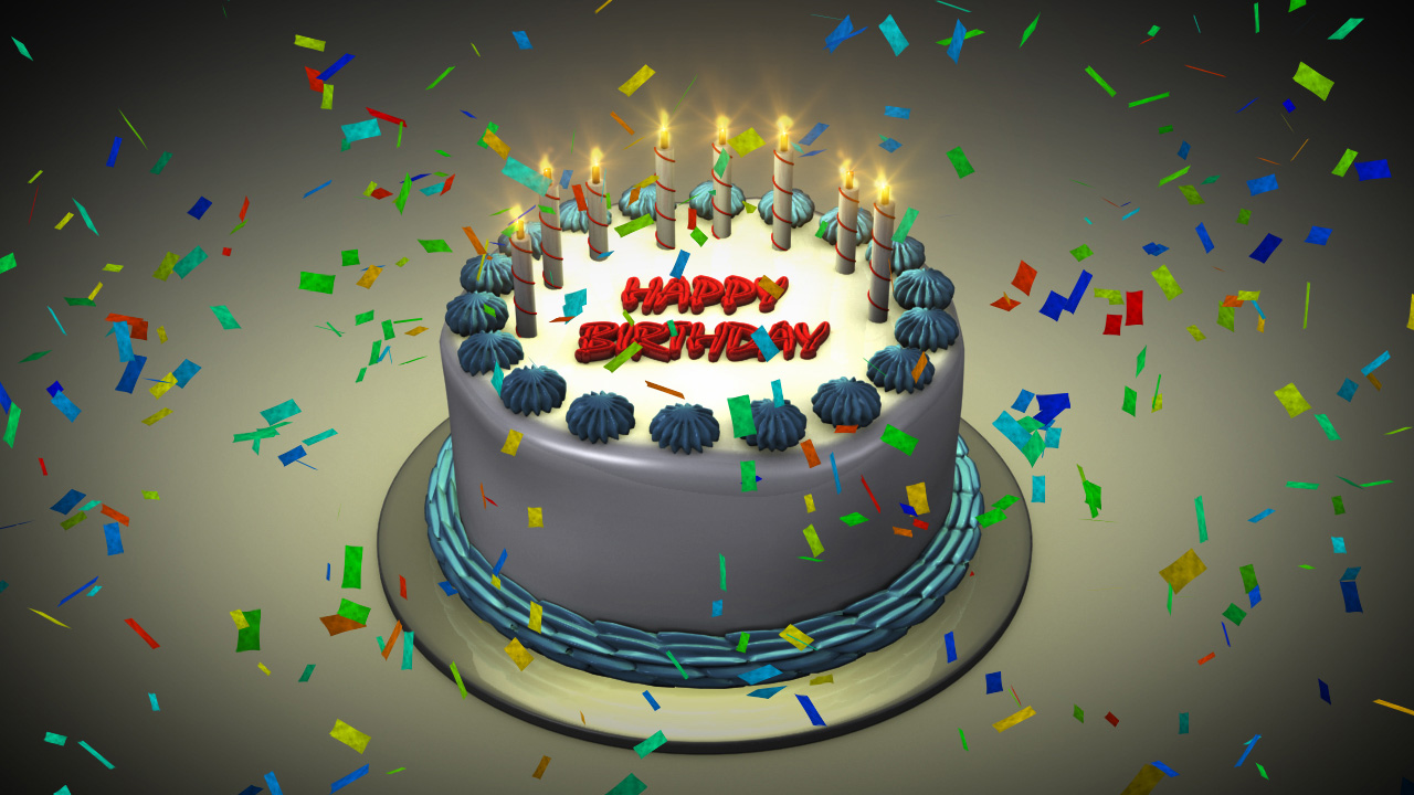 Birthday Cake Candles Animation ~ Image Inspiration of ...
