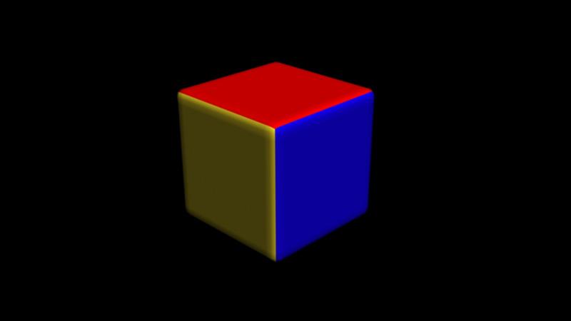Coloured Cube